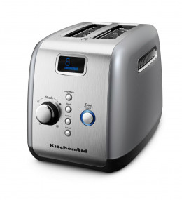 Kitchenaid 2-Slice Toaster with One Touch Lift/ Lower & Digital Display, Model # KMT223CU