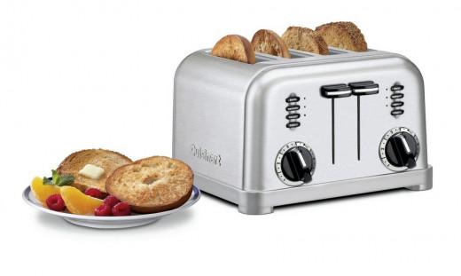 Cuisinart 4-Slice Metal Classic toaster, Model # CPT-180