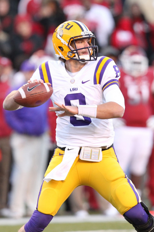 QB Zach Mettenberger (LSU)