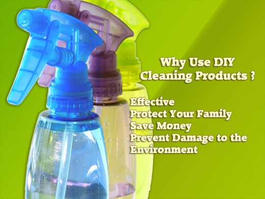 Homemade cleaning products are safer for your family and easier on your wallet.