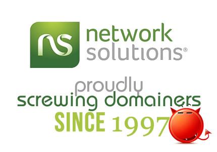 Network Solutions sucks?
