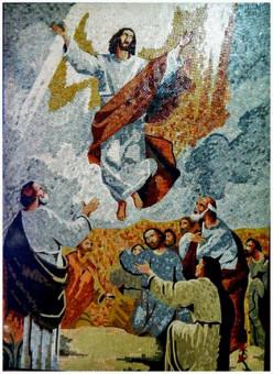 Resurrection of Jesus, my favorite mosaic panel