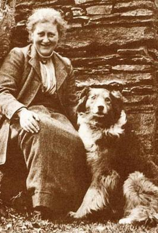 Beatrix Potter Author of the 'Peter Rabbit' books lost some of her imaginative drive when she lost her singlehood.