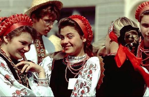 peacetime Ukrainians
