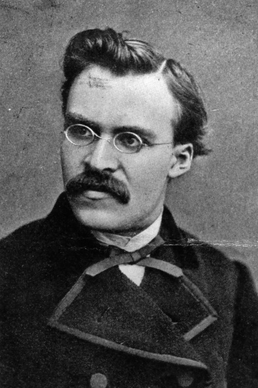 Friedrich Nietzsche (~1869)