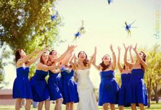 Bridesmaids should compliment the bride.