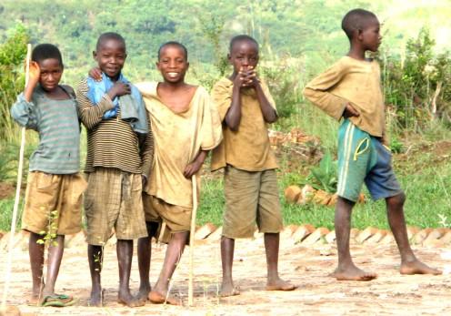 peacetime Tutsi boys