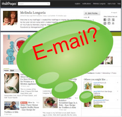 How To Contact A HubPage Owner, or Hubber, by E-mail On HubPages