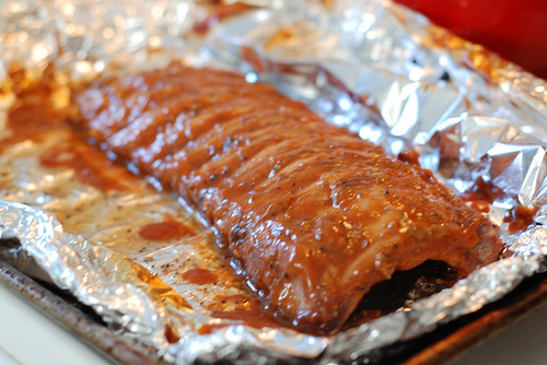 Foil wrap cooking is a very good way to cook ribs it makes them very tender and juicy and it gives you less to cleanup because the only thing your using is foil please try and enjoy.
