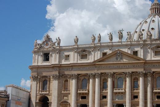 The Vatican is also a subject of many conspiracy theories.
