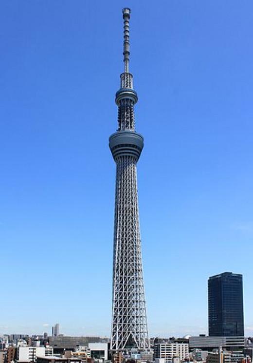 Tokyo Skytree - Japan's tallest building