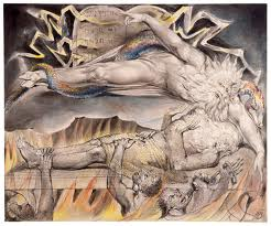 Painting by William Blake. Dream Interpretation reveals a lot about the Dreamer.