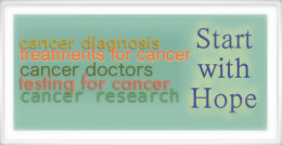Cancer: The horizon is hopeful.