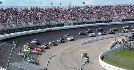 The Camping World Truck series brought NASCAR back to the Rock. Can NASCAR find a way to run the Cup cars there too?