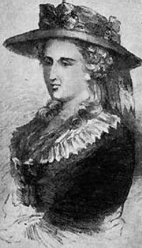 Portrait of Ann Radcliffe