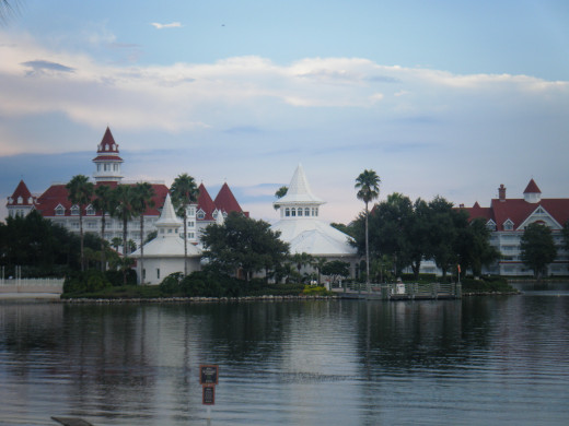 The Grand Floridian, with the Wedding Pavilion