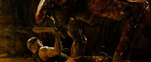 The monsters, tone of the movie, and the action made the experience feel more like a spiritual successor to Pitch Black.