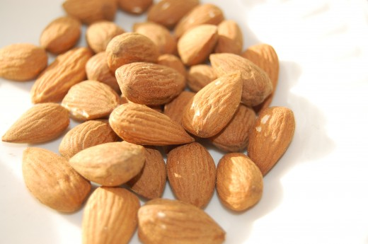Almonds have softening and nourishing properties