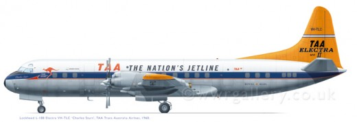 It was one of these which brought us back at the end of 1965.  The DC6B's were superseded and now obsolete.