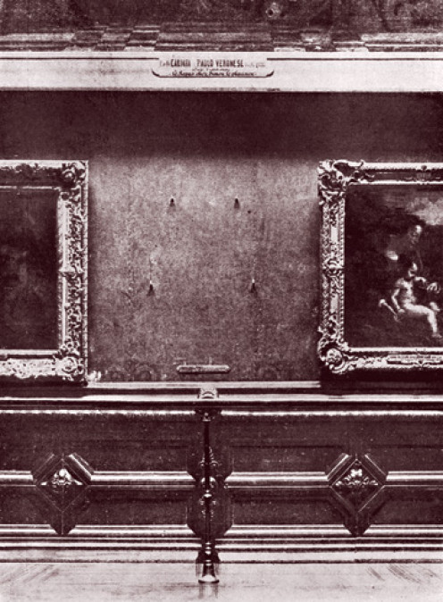 Mona Lisa Theft 1911