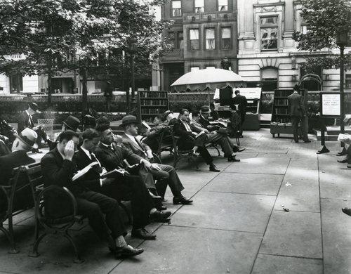 Bryant Park 1935