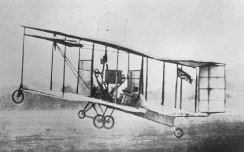 British Army Aeroplane No: 1 First Flight