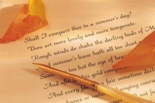 Excerpt from 'Sonnet 18'  by William Shakespeare
