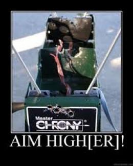 Whatever you do..  DONT SHOOT THE CHRONY!!!