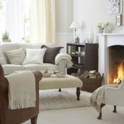 USE RUGS TO WARM UP THE ROOMS AND KEEP HEATING COSTS DOWN