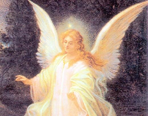 . . . my guardian angel ....That tender, radiant . . . Visage . . .