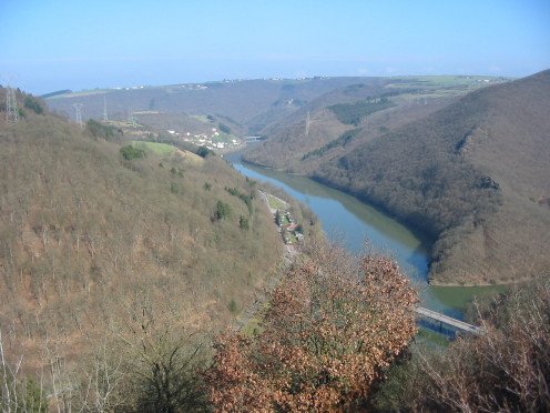 The Our River, near Vianden, Luxembourg