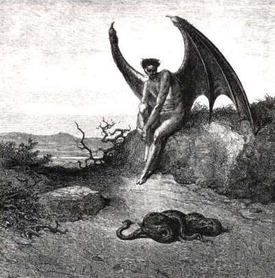 Lucifer was cast out of heaven.