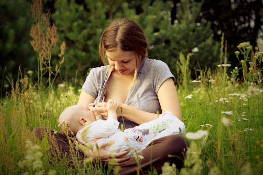 If you have never breastfed in a meadow you are probably not a Good Mom