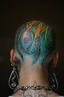head tattoos and designs head tattoo ideas and pictures