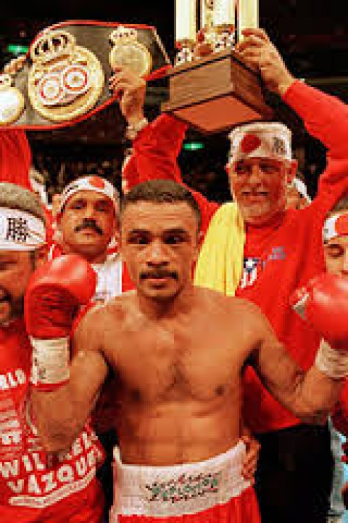 Wilfredo Vazquez was a very technical boxer with a great jab and good ring science.