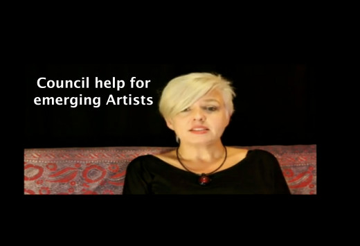 Council help for emerging Artists.