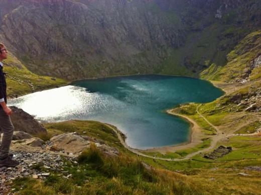 lake of Llyn Llydaw