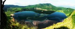 This is the Main crater lake