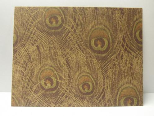 Background cardstock