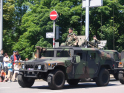 Luxemburgish Hummer during national day.