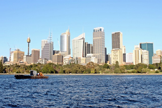 The original Sydney skyline photo