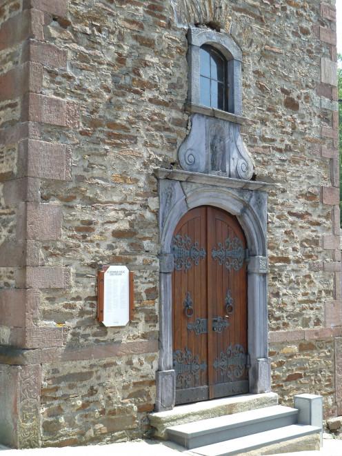 Sankt-Stephanus-Kirche, Burg-Reuland, Belgium