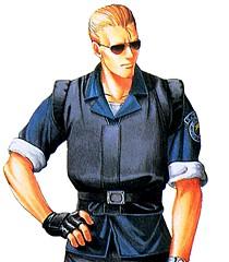 """Wesker in """"Resident Evil."""""""