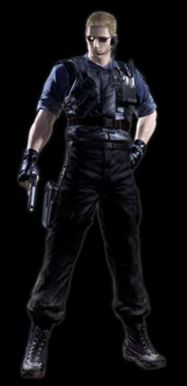 """Wesker in """"Resident Evil 0."""""""