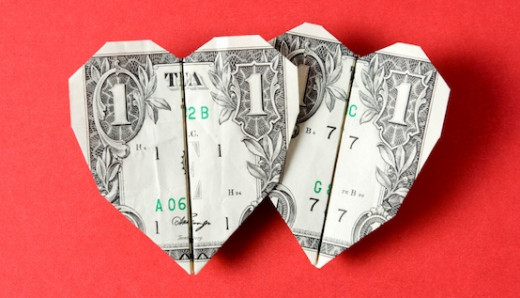 Money and love.