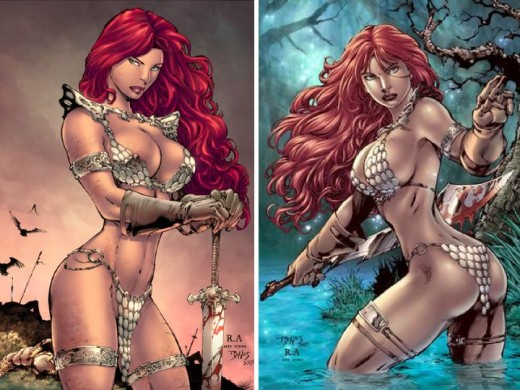Red Sonja Armor Bikini Costume