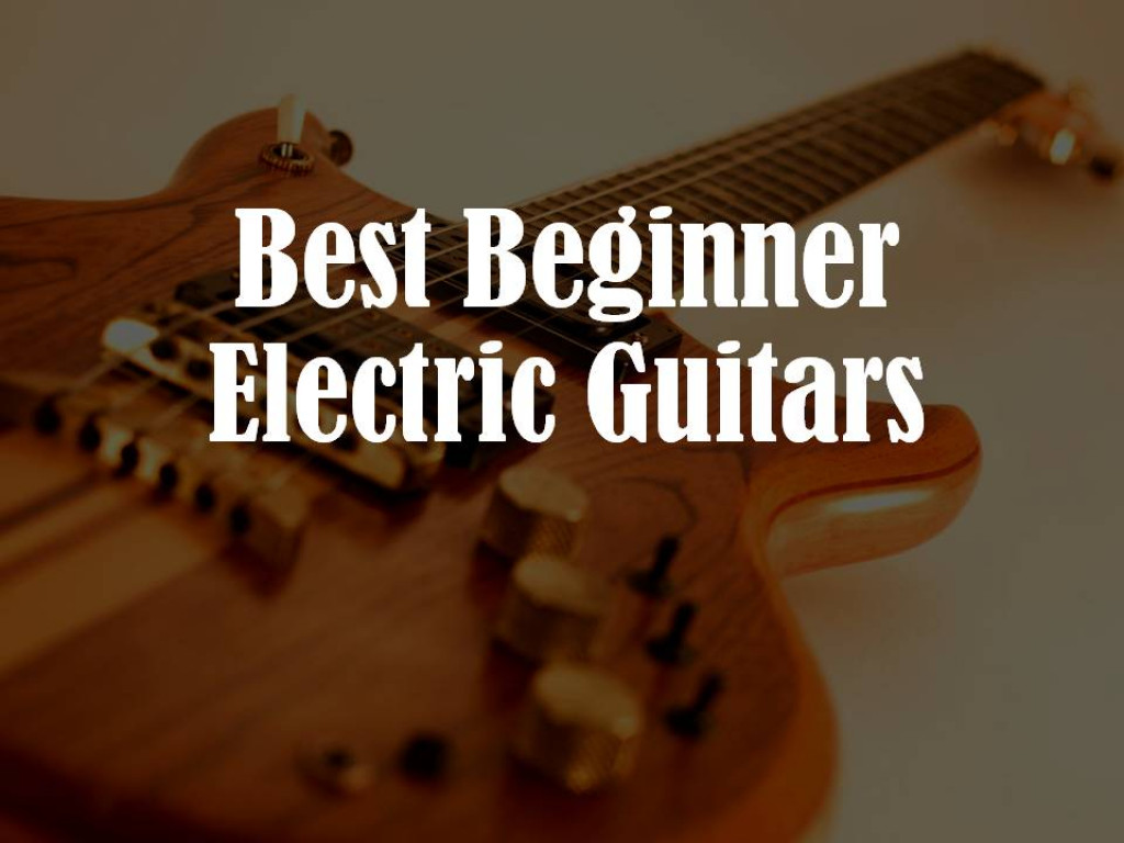 best beginner electric guitars hubpages. Black Bedroom Furniture Sets. Home Design Ideas