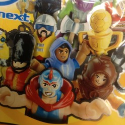Fisher-Price Imaginext Series 1: Mystery Figure Number Codes