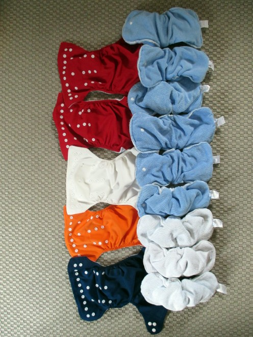 Pre-owned Cloth Diapers