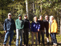 An Autumn Hike in the Woods: On a Sierra Club Hike